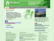 Tablet Preview of drutevapraha.cz